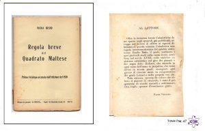 Breve Quadrato Maltese