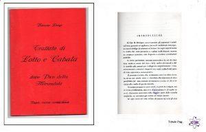 Trattato di Cabala e Lotto dopo Pico