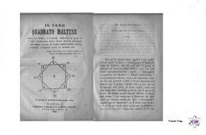 Il Vero Quadrato Maltese 1866